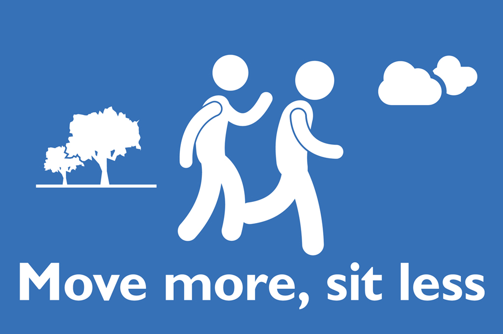 Move more, sit less